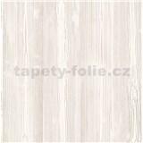 Samolepící tapeta dřevo bílé s výraznou strukturou kontur - 67,5 cm x 1,5 m (cena za kus)