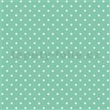 Samolepící tapeta puntíky mint  - 45 cm x 2 m (cena za kus)