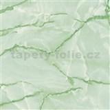 Samolepící tapety  - mramor Aquarell zelená 67,5 cm x 15 m