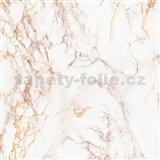 Samolepící tapety  - mramor Cortes hnědý 67,5 cm x 15 m