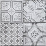 Vinylové samolepící podlahové čtverce Classic Maroccan šedý rozměr 30,5 cm x 30,5 cm