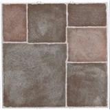Vinylové samolepící podlahové čtverce Classic terakotová dlažba rozměr 30,5 cm x 30,5 cm