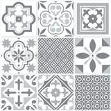 Vinylové samolepící podlahové čtverce Classic Barcelona s orientálním vzorem rozměr 30,5 cm x 30,5 c