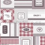 Vinylová kuchyňská tapeta IMPOL Decoration červená - POSLEDNÍ KUSY
