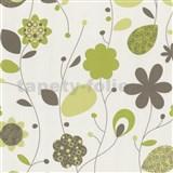 Tapety na ze� Delight - zelen� design kv�ty