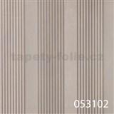 Tapety na zeď La Veneziana 2 - pruhy stříbrné s metalickým efektem