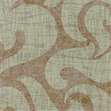 Vliesové tapety na zeď La Veneziana - benátský vzor na zlatém podkladu s metalickým efektem