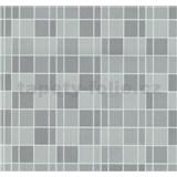 Vliesové tapety na zeď Easy Wall obklad kachličky šedé