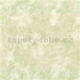 Papírové tapety - strukturovaná omítkovina zelená