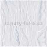 Vliesové tapety na zeď Elle Decoration mramor šedo-modrý