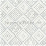Vliesové tapety na zeď Eyecatcher kachličky šedé