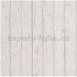 Vliesové tapety na zeď Scandinja desky dřevěné světle šedé