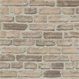 Vliesové tapety na zeď Imitations cihlová stěna béžovo-šedá