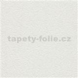Vinylové tapety na zeď Grafics & Basics omítkovina bílá s třpytkami