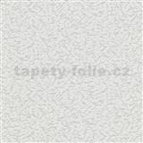 Vinylové tapety na zeď Grafics & Basics omítkovina šedá s třpytkami