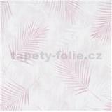 Vliesové tapety na zeď G.M.K. Fashion for walls palmové listy růžové