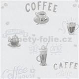 Vliesové tapety na zeď IMPOL Finesse Coffee šedé