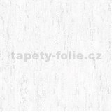 Vliesové tapety na zeď IMPOL Finesse vertikální stěrka bílá se stříbrnými odlesky