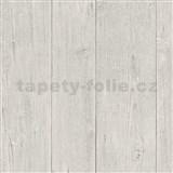Vliesové tapety na zeď IMPOL Finesse dřevo světle hnědé