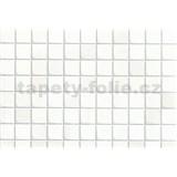 Samolepící tapety - malé kachličky - bílé 67,5 cm x 15 m