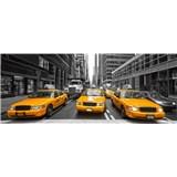 Vliesové fototapety taxi rozměr 375 cm x 150 cm