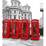 Vliesové fototapety Londýn rozměr 225 cm x 250 cm