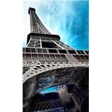 Vliesové fototapety Eiffelova věž rozměr 150 cm x 250 cm