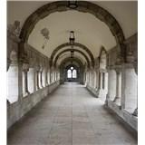 Vliesové fototapety starobylé chodby rozměr 225 cm x 250 cm