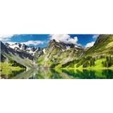 Vliesové fototapety jezero rozměr 375 cm x 150 cm
