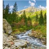 Vliesové fototapety údolí rozměr 225 cm x 250 cm