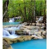Vliesové fototapety vodopády rozměr 225 cm x 250 cm