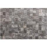 Vliesové fototapety kamenné dlaždice rozměr 375 cm x 250 cm