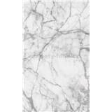 Vliesové fototapety mramor bílý rozměr 150 cm x 250 cm