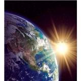 Vliesové fototapety zeměkoule rozměr 225 cm x 250 cm