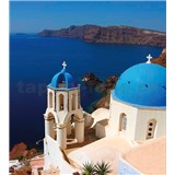 Vliesové fototapety Santorini rozměr 225 cm x 250 cm