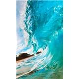Vliesové fototapety vlny oceánu rozměr 150 cm x 250 cm
