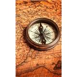 Vliesové fototapety kompas rozměr 150 cm x 250 cm