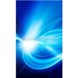 Vliesové fototapety abstrakt modrý rozměr 150 cm x 250 cm