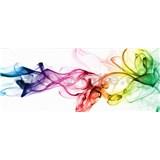 Vliesové fototapety kouř barevný rozměr 375 cm x 150 cm