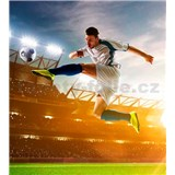 Vliesové fototapety fotbalový hráč rozměr 225 cm x 250 cm