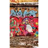 Vliesové fototapety graffiti ulice rozměr 150 cm x 250 cm
