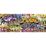 Vliesové fototapety graffiti rozměr 375 cm x 150 cm