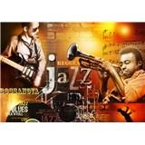 Vliesové fototapety Jazz rozměr 104 cm x 70,5 cm