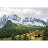 Vliesové fototapety Alpy 416 cm x 254 cm