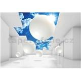 Vliesové fototapety 3D  nebe rozměr 368 cm x 254 cm