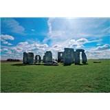 Vliesové fototapety Stonehenge rozměr 312 cm x 219 cm