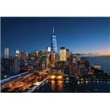 Vliesové fototapety New York Manhattan rozměr 368 cm x 254 cm