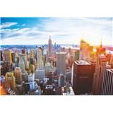 Vliesové fototapety ranní Manhattan rozměr 368 cm x 254 cm
