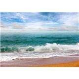 Vliesové fototapety pohled na moře rozměr 368 cm x 254 cm