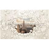 Fototapety 3D New York rozměr 368 cm x 254 cm